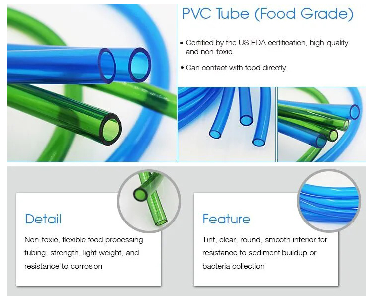 Pvc Clear HoseFeatures