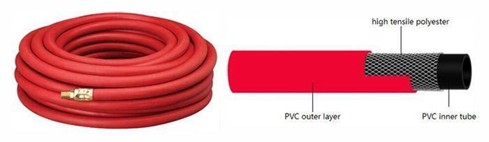 pvc-acetylene-hose-structure