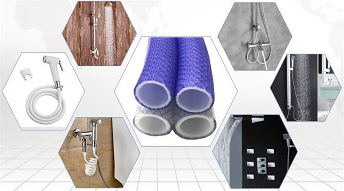 pvc-shower-hose-application