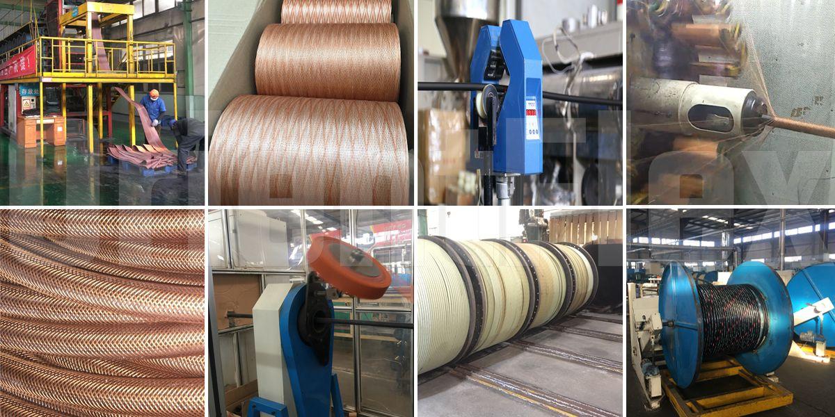 fiber braided hydraulic hose