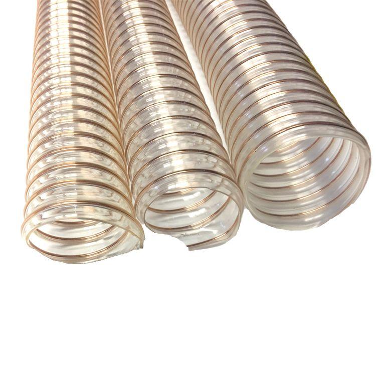 Pu Steel Wire Duct Hose Orientflex