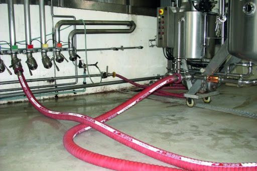 PVC Wine Hose application